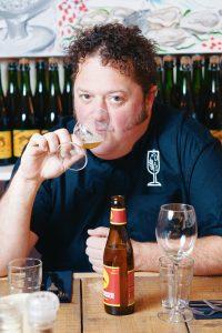 Biersommelier Arvid Bergström
